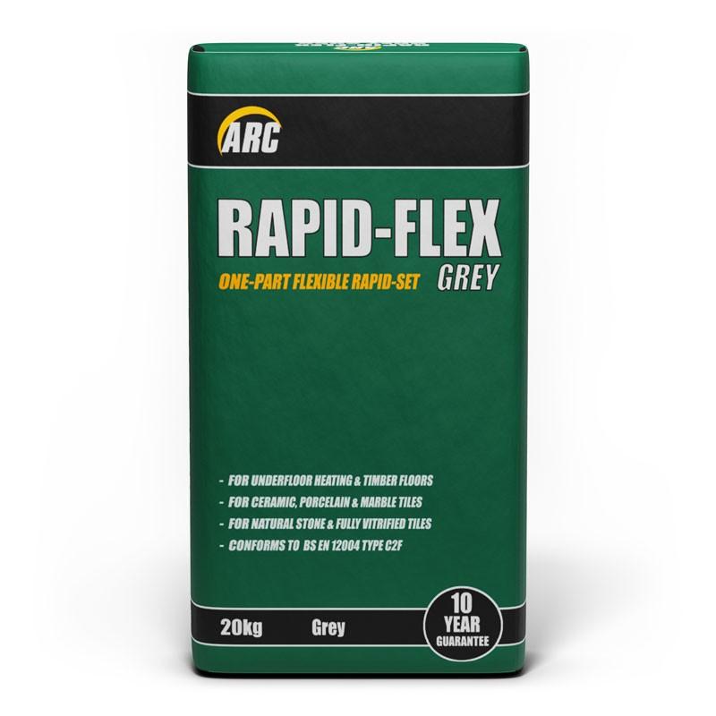 Rapid-Set Flexi Grey Adhesive 20kg