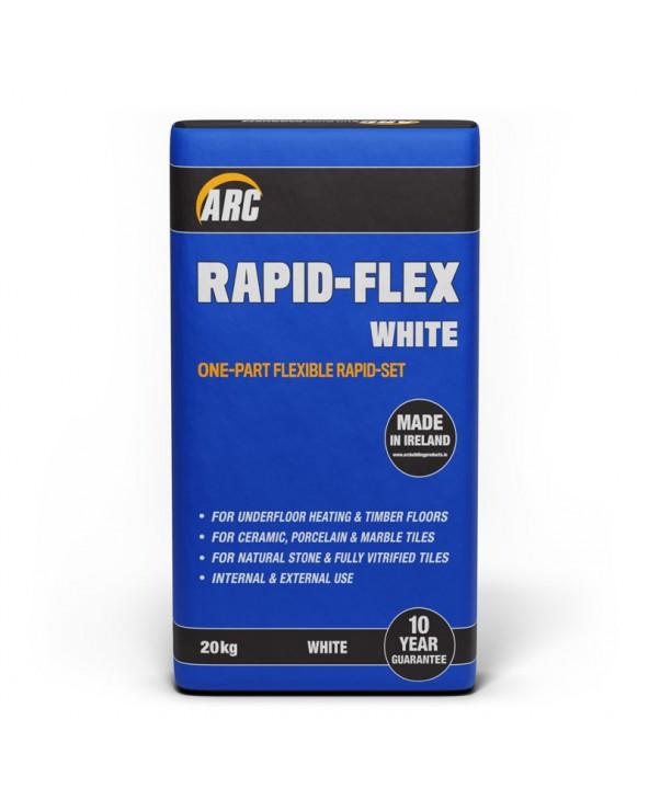 Rapid-Set Flexi White Adhesive 20kg