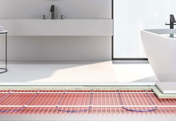 Electric Underfloor Heating | World of Tiles, Bathrooms & Wood Flooring
