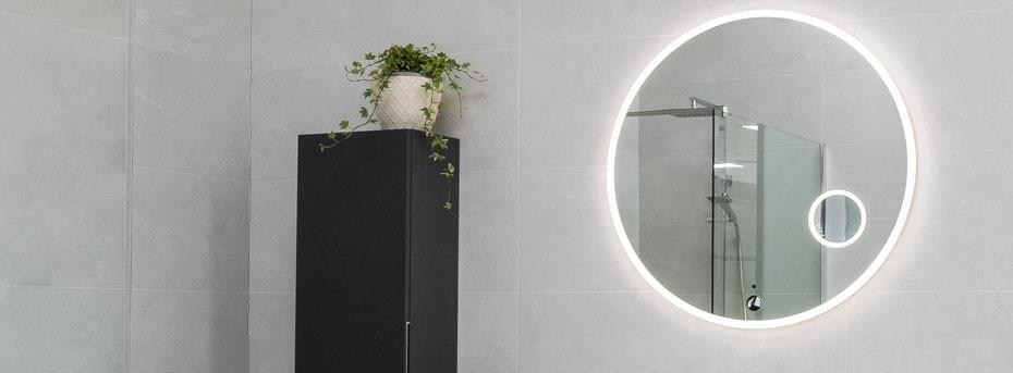 Mirrors & Cabinets   Bathroom Mirrors   Illuminated Mirrors   World of Tiles